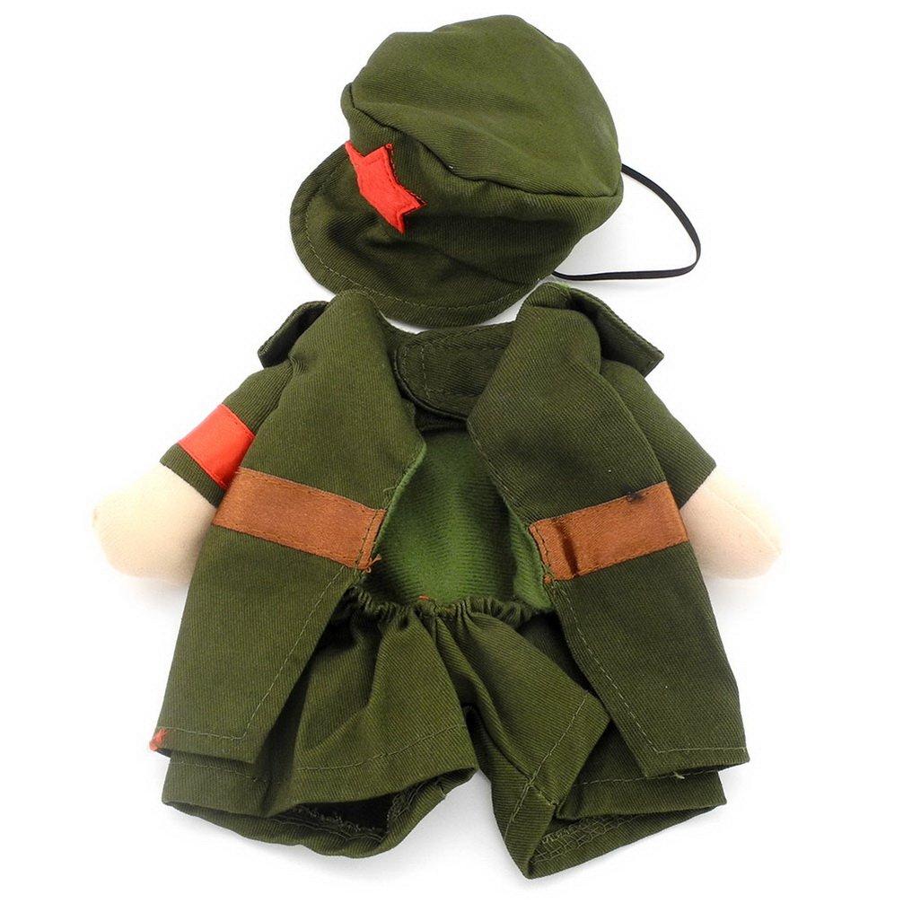 ranphy pequeño perro ropa para hembra macho perro militar ...