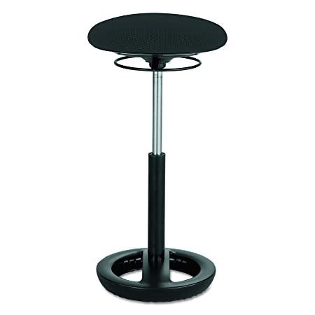 Safco Products 3001BL Twixt Active Seating, Black