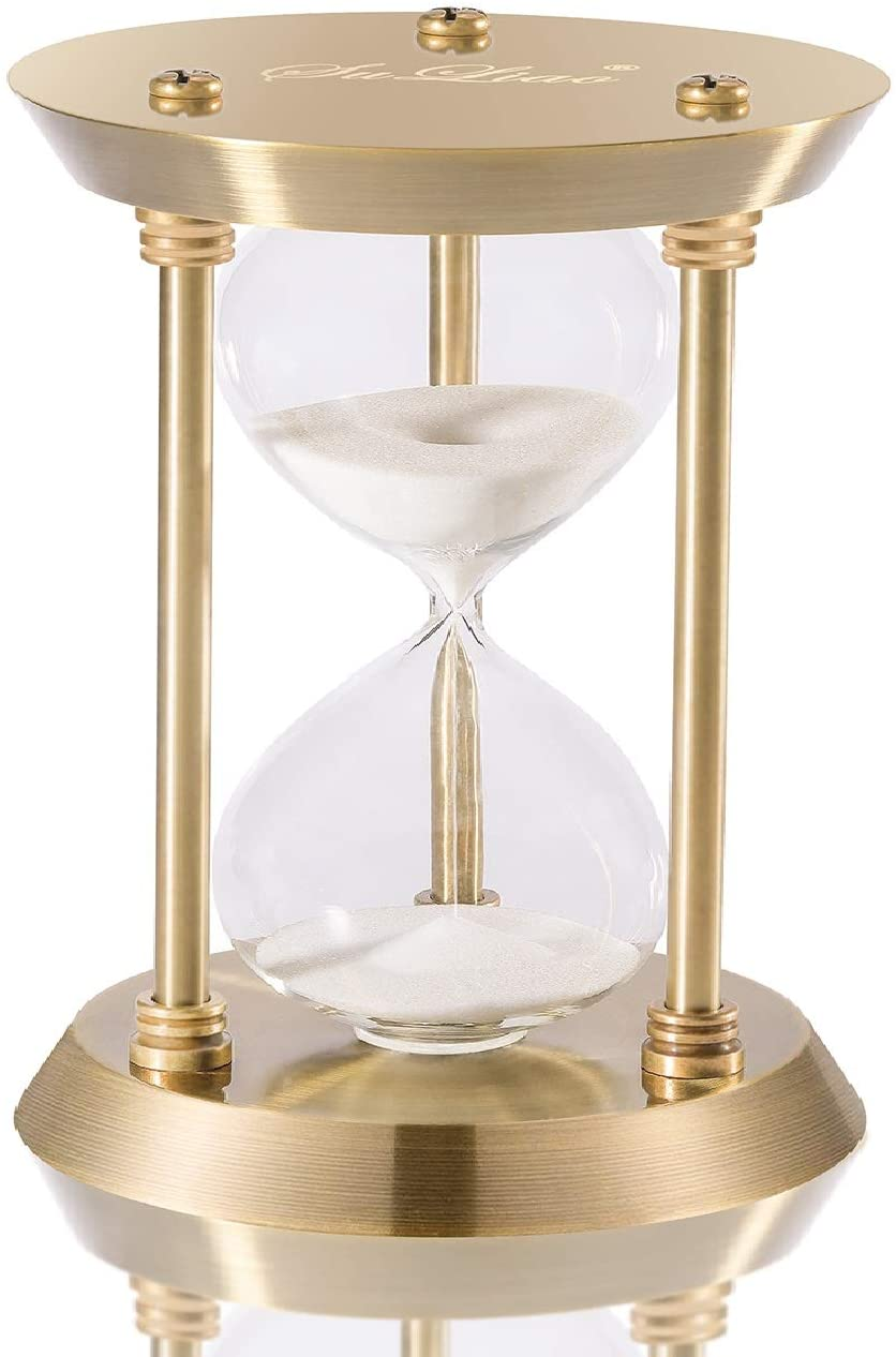 "A picture of SuLiao Hourglass Timer Sand Clock to better elaborate ""Best Hourglass clocks 2020"""
