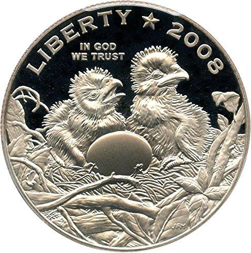 2008 S 50c Modern Commems Bald Eagle Half Dollar PR70 PCGS DCAM