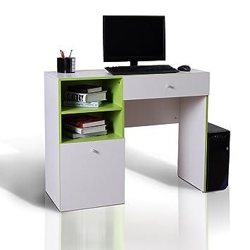Homcom PC Computer-Schreibtisch Schreiben Workstation Holz Ecke ...
