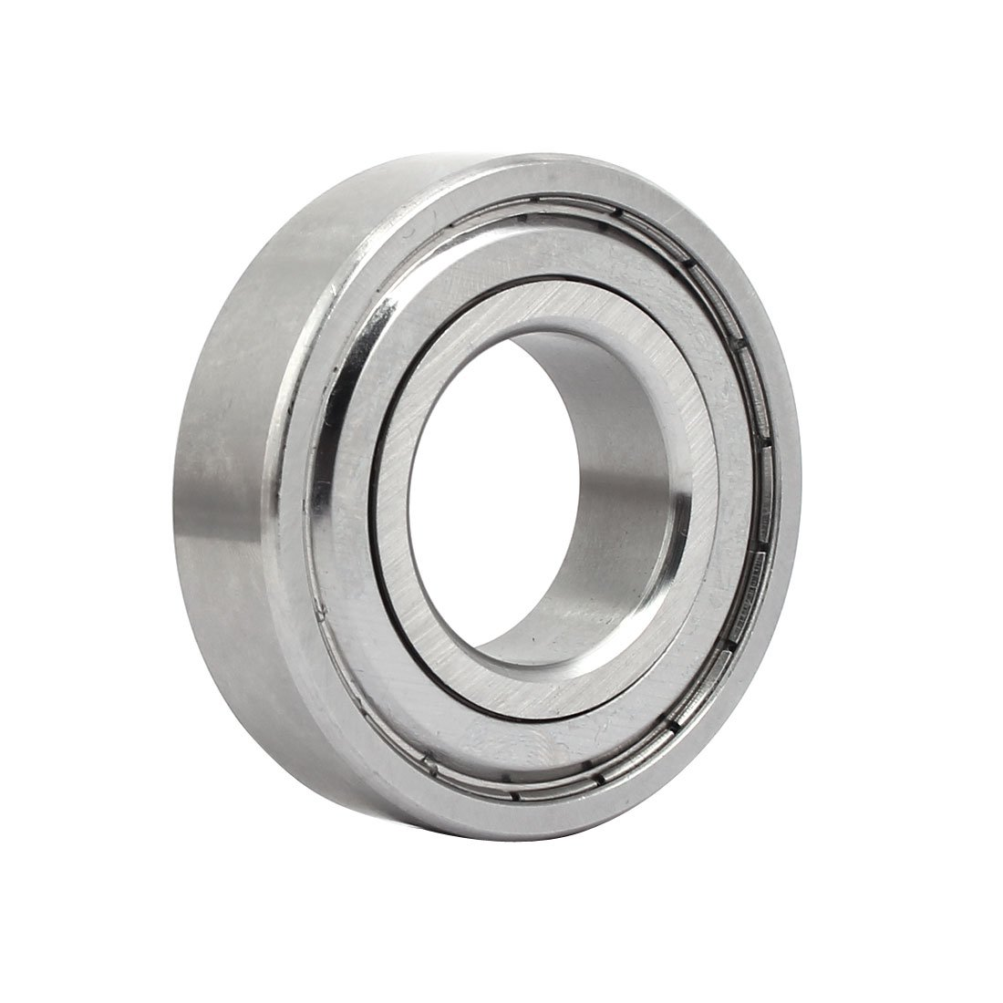uxcell62mmx30mmx16mm Stainless Steel Single Row Double Shielded Deep Groove Ball Bearing