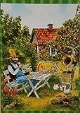 Puzzle Findus und Pettersson beim Tortenessen, 104 Teile, 48 x 33 cm