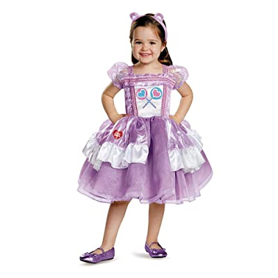 Girls Share Bear Care Bears Deluxe Tutu Toddlers Costume Dress: Toys & Games