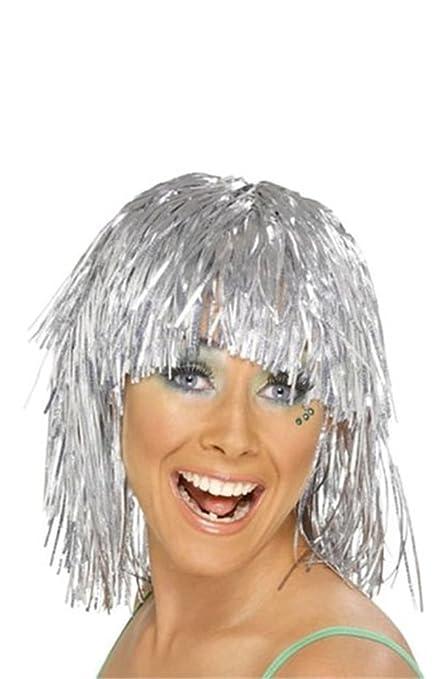 Espumillón peluca (Plata)