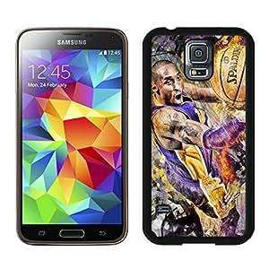 New Custom Design Cover Case For Samsung Galaxy S5 I9600 G900a G900v G900p G900t G900w Kobe Bryant 8 Black Phone Case