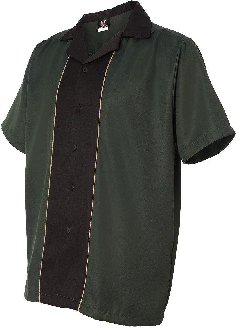 逆輸入 Hilton-Quest ボーリングシャツ B007P85EZG XL Hunter/ Black Hunter/ Black XL, ライフの達人 3afc5999