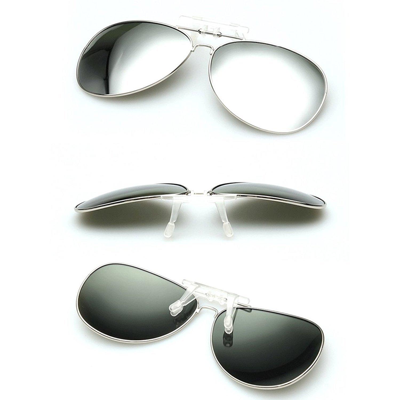 e4fc7057c284 Dooppa Latest Design Unisex Clip-on Flip-up Polarized Sunglasses - Various  Colors