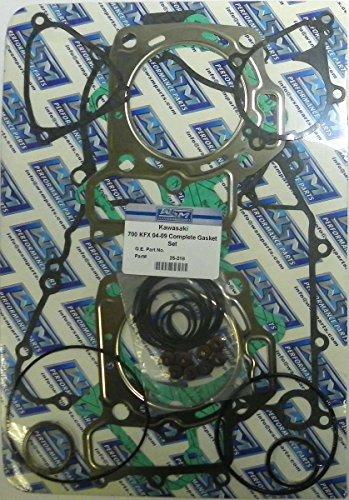 - Kawasaki ATV Complete Gasket Kit Model 700 KFX 2004-2009 / 700 Prairie 4X4 2004-2006 / 700 Twin Peaks 2004-2005 WSM 25-218