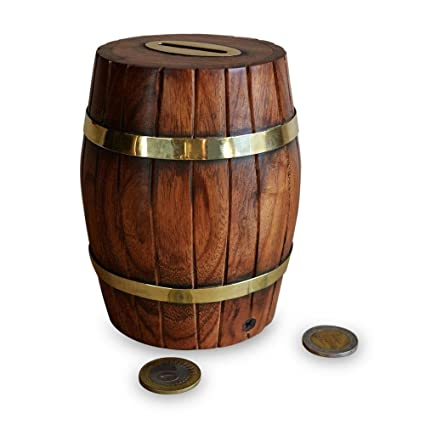 Buy Decorative Wooden Barrel For Home Decor Office Decor Toys