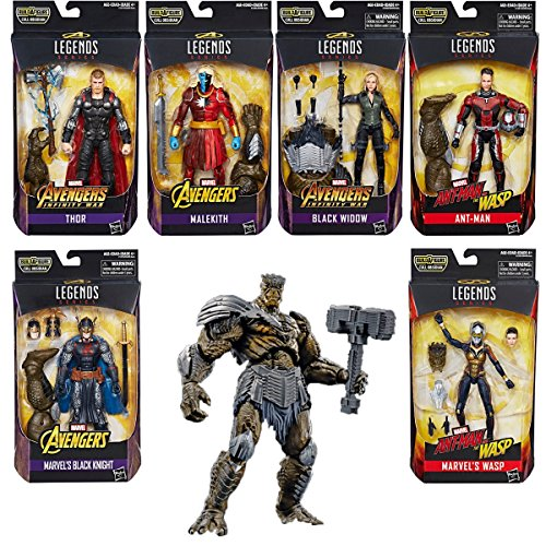 Action Figure Avengers Infinity War Marvel Legends 6-Inch Wave 2 Set