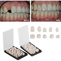 Mike-Dental 100PCS Temporary Crowns Posteriors Anterior Molar Front Resin Tooth Teeth Caps
