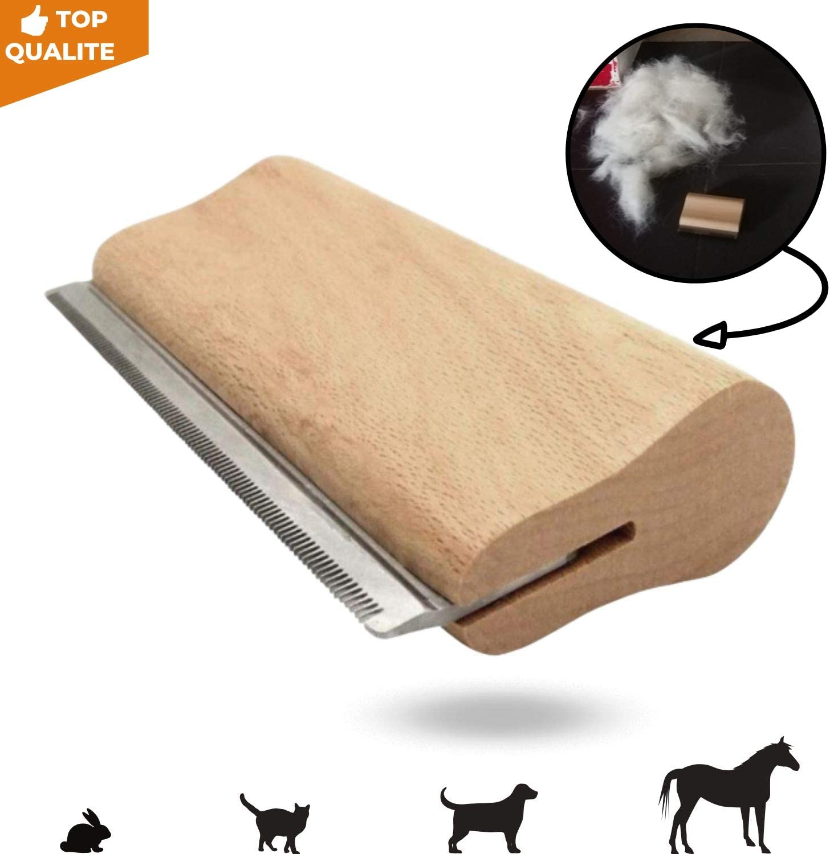 Sleekez Outil de toilettage Brosse pour Chat//Chien//cheval