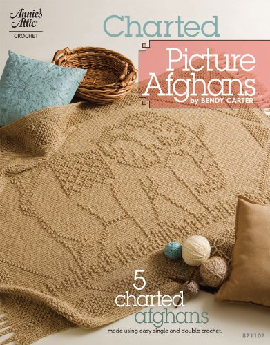 Charted Picture Afghans (Annie's Attic: Crochet) (Picture Afghans)