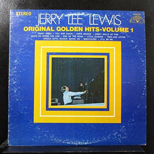 Jerry Lee Lewis - Original Golden Hits - Volume 1 - Lp Vinyl Record