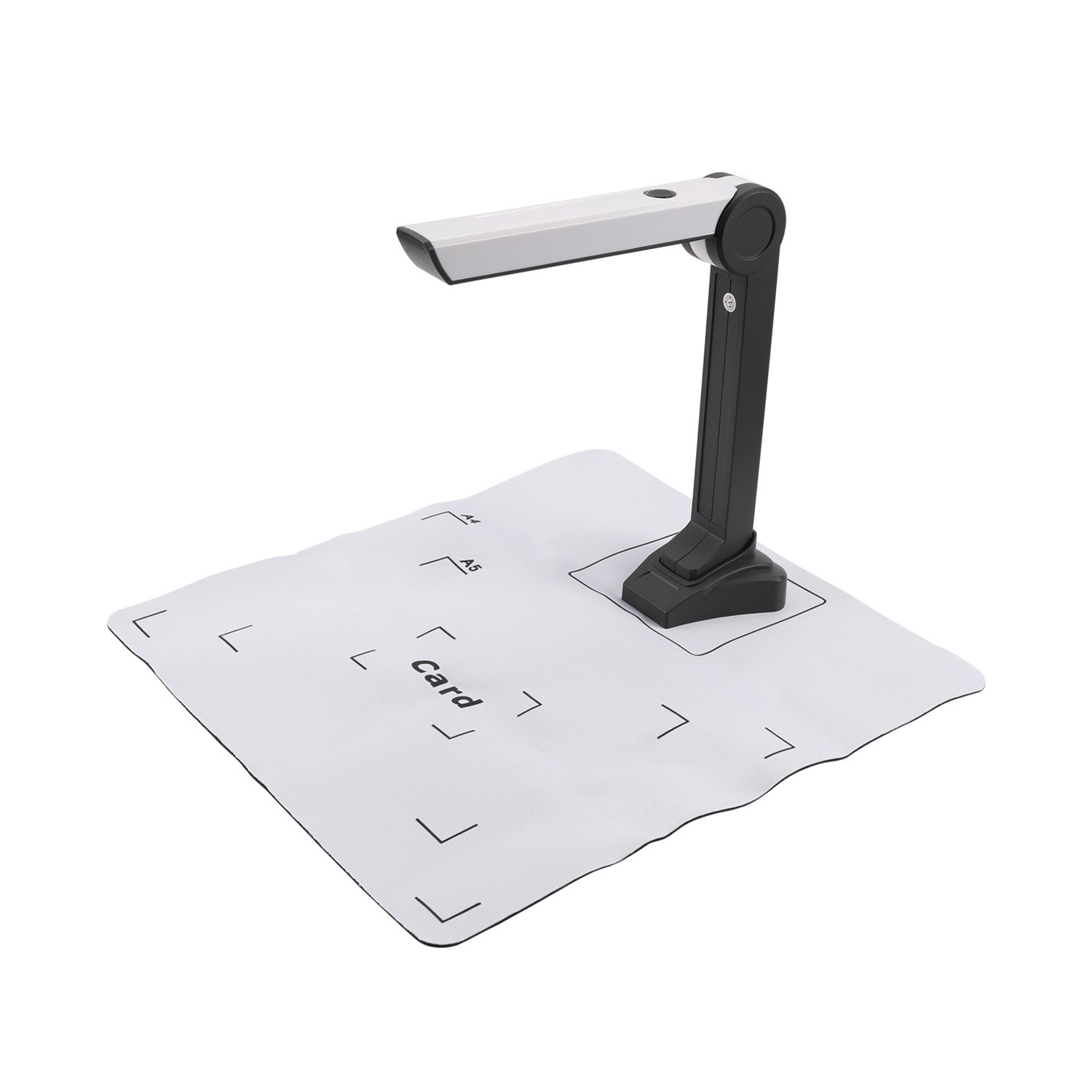 eloam Mini Document Camera Scanner S200L ,OCR,Time Shooting,Video Recording for Office,Education Presentation Solution