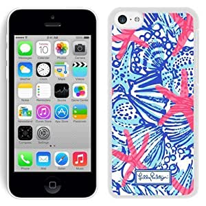 Lovely Lilly Pulitzer 26 iPhone 5c 5th Generation White Cell Phone Case