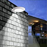 microwave hybrid - 2 Pack Solar Motion Sensor Wall Light, Super Bright 16 LEDs Outdoor Wireless Microwave Spotlight Security Weatherproof Porch Light for Driveway