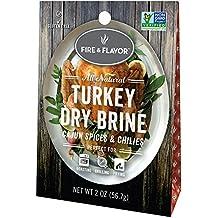 Fire and Flavor Cajun Turkey Dry Brine, 1-ounce