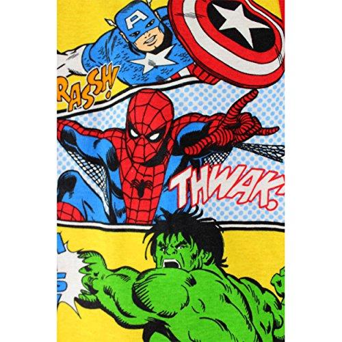Captain America Hulk Spider-Man Baby 4 pc Cotton Pajamas (24 Months)