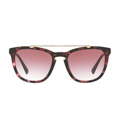 64e7a99fdd5d Amazon.com  Valentino VA4002 50328H Havana Pink Marble VA4002 Square  Sunglasses Lens Catego  Valentino  Clothing