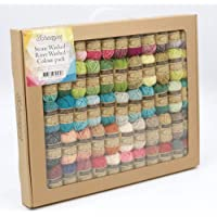 Scheepjes Stonewashed-Riverwashed Pack 58 X 10 GR, Cotton, Multi-Coloured, Gram