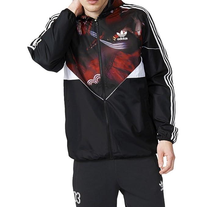 299cf2fe3b Adidas, giacca a vento da uomo, Classic Team Colorado, colore nero
