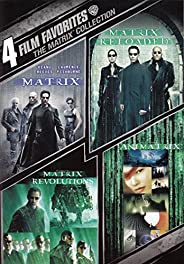 4 Film Favorites: The Matrix Collection (The Matrix / The Matrix Reloaded / The Matrix Revolutions / The Anima