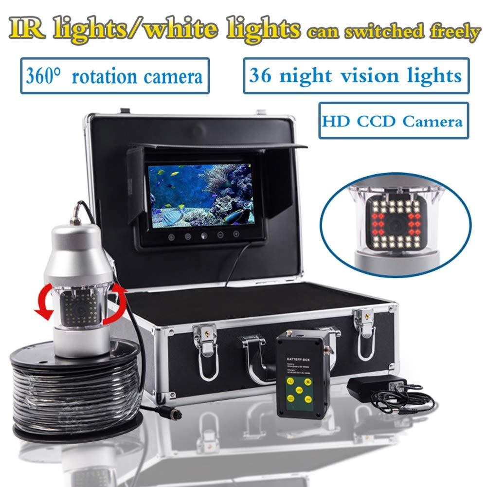 【ネット限定】 7インチ水中魚群探知機360度HD水中カメラTFTカラーディスプレイCCDとHD 1000TVLカメラ(20M、50M、100M、200M),200M 20M B07QM574NC 20M B07QM574NC 20M 20M, ハイガー産業:8d58c826 --- arianechie.dominiotemporario.com