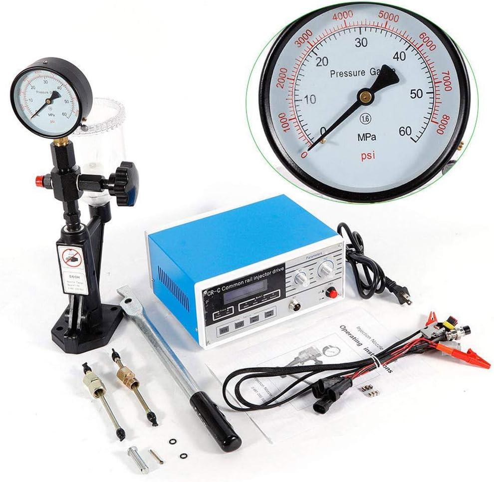 CNWOOAIVE Kit di misuratore diagnostico della Pressione del Cilindro per Il Set di Strumenti del Garage Diesel del Camion del Trattore dellautomobile