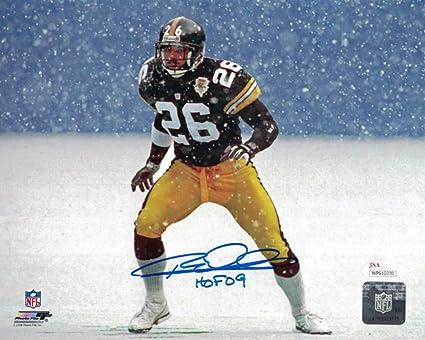 e345c2107 Rod Woodson Autographed/Signed Pittsburgh Steelers 8x10 Photo HOF JSA