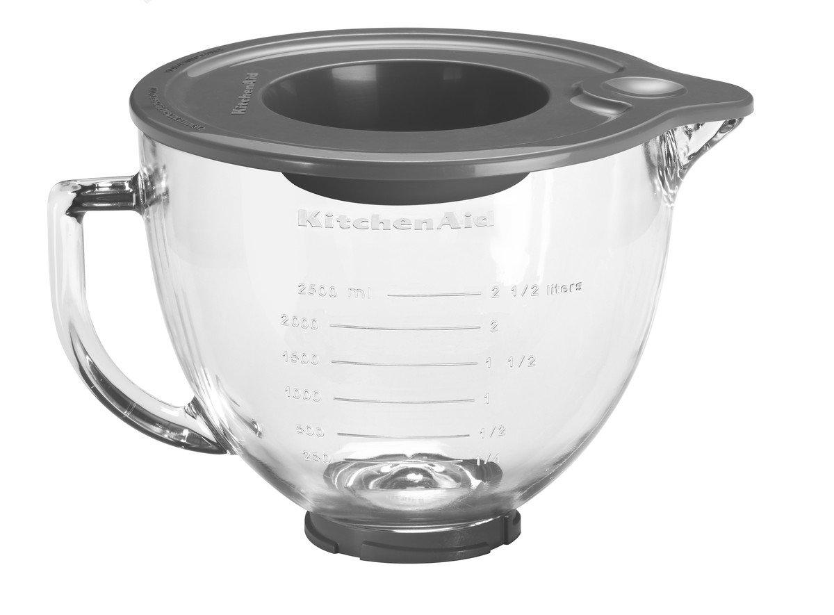 KitchenAid 5K5GB Glasschüssel, 4.8 Liters, Transparent