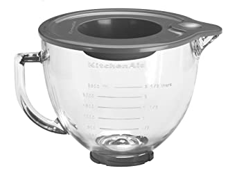 KitchenAid 5K5GB Gl Bowl, 4.8 Litre (Optional Accessory for ... on brown bowls, ikea bowls, gibson bowls, cambro bowls,