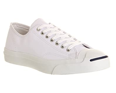 80df825c65088 Converse Jack Purcell Leather Ox Homme Baskets Mode Blanc: Amazon.fr ...