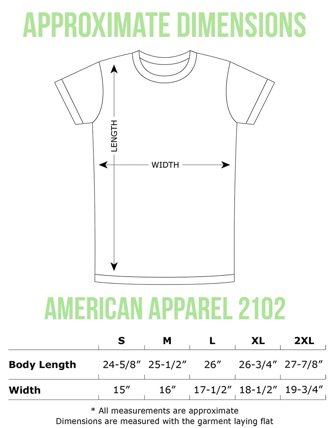 f6454832d American Apparel T Shirt Size Chart Length – EDGE Engineering and ...