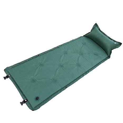Camping Colchoneta autohinchable con almohada ligero aire ...