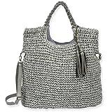 Sun N' Sand Drifting Dune Handbag (Gray), Bags Central