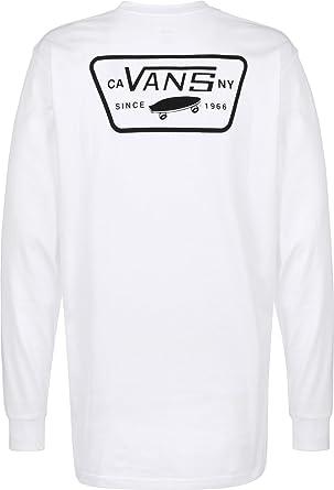 c1bb771564d769 Vans Men s Full Patch Back Ls T-Shirt  Amazon.co.uk  Clothing