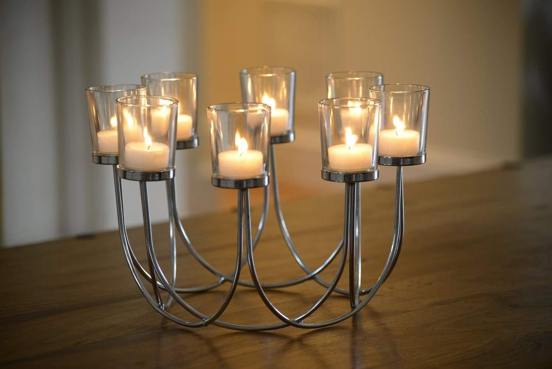 Beautiful Tea Light Glass Candle Holder Wedding Christmas Table Centrepiece Decoration Artis