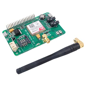 SIM800 Module GSM GPRS Expansion Board UART V2 0: Amazon co uk