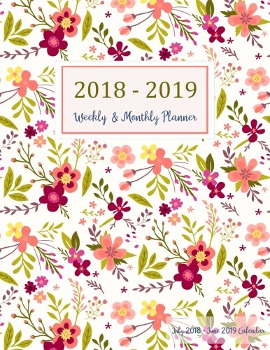July 2018 - June 2019 Calendar: Two Year - 12 Months Daily Weekly Monthly Calendar Planner For Academic Agenda Schedule   Organizer Logbook and ... Planner 2018-2019 8.5 x 11) (Volume 8)