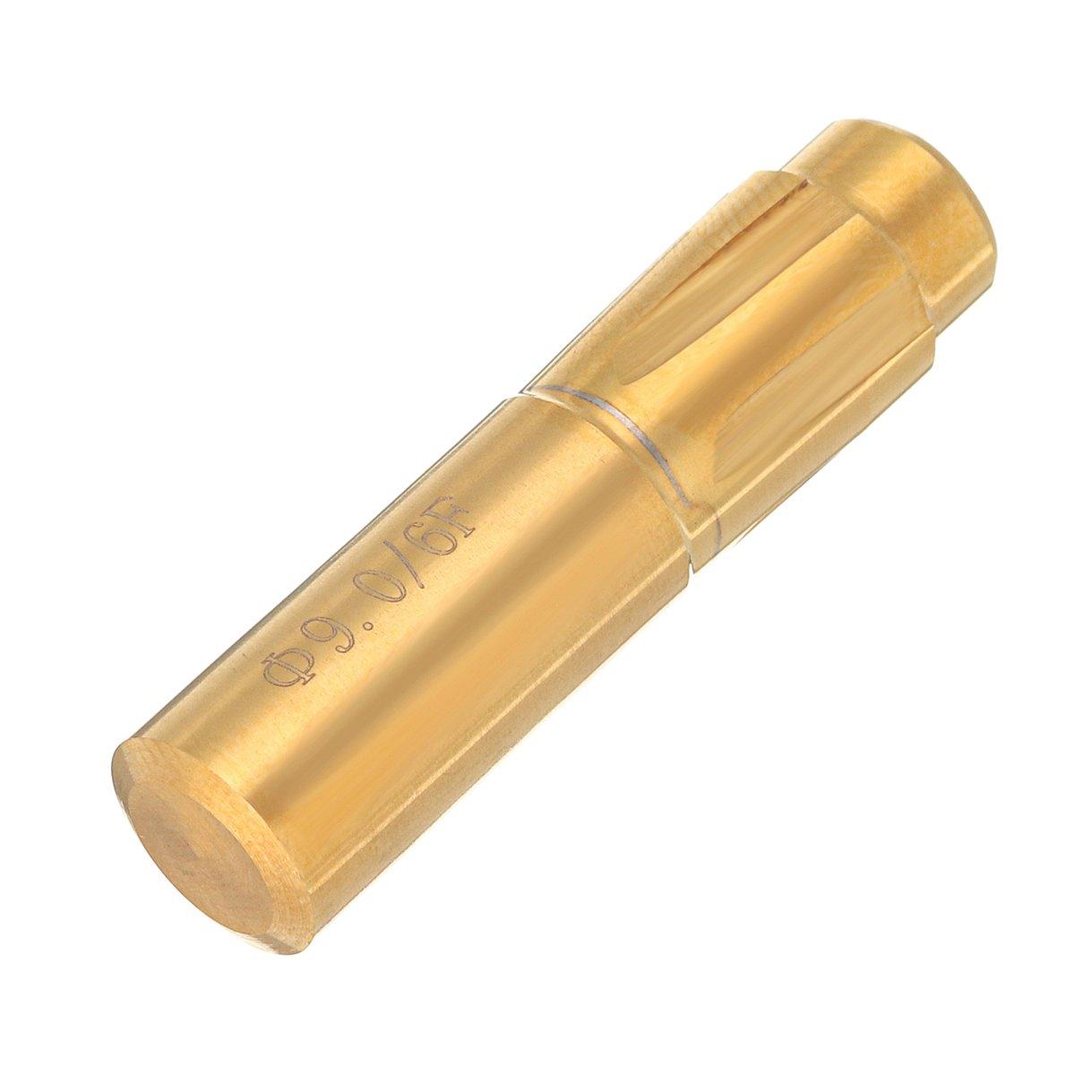 9.0mm ChaRLes 5,5-11,43Mm 6 Fl/öten Spiralbohrer Push Rifling Button Kammer Helical Maschine Reibahle