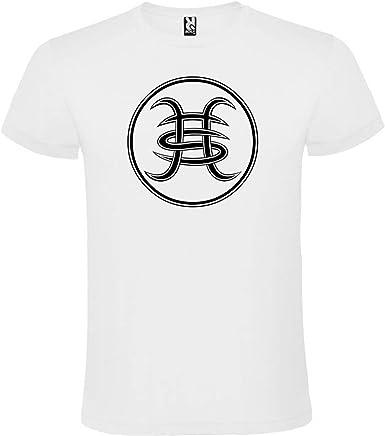 ROLY Camiseta Blanca con Logotipo Héroes del Silencio Hombre 100% Algodón Tallas S M L XL XXL Mangas Cortas: Amazon.es: Ropa y accesorios