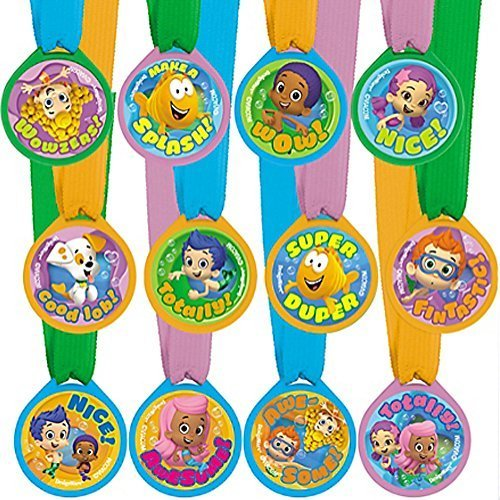 Bubble Guppies Award Medals / Favors (12ct) -