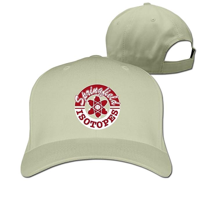 EUNICORN SG Springfield Isotopes Ajustable Baseball Cap Cotton: Amazon.es: Ropa y accesorios