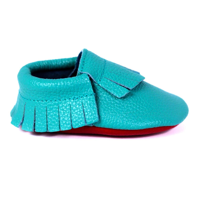 Baby Moccasins for Boys & Girls. Premium Leather Suede Infant & Toddler Moccasins London Jae Apparel