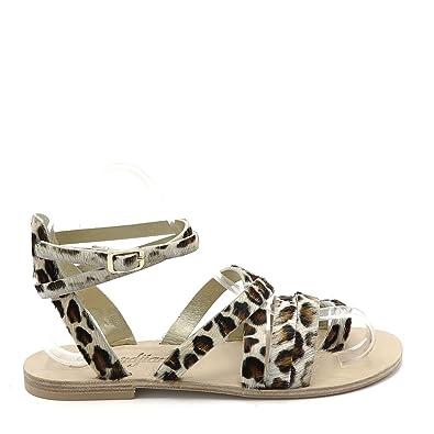 Sandalesnu Pieds Bella 37 2 Leopard Semerdjian Femmes thQrxdsC