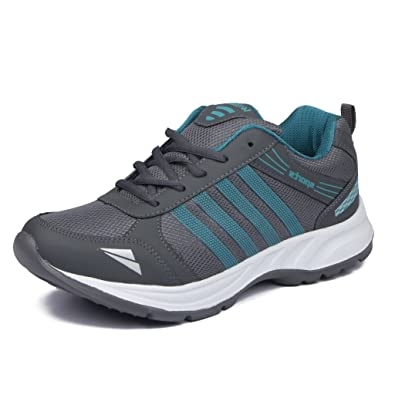 Asian Shoes Wonder 13 Grey Firozi Mesh Shoes Buy Online At Low