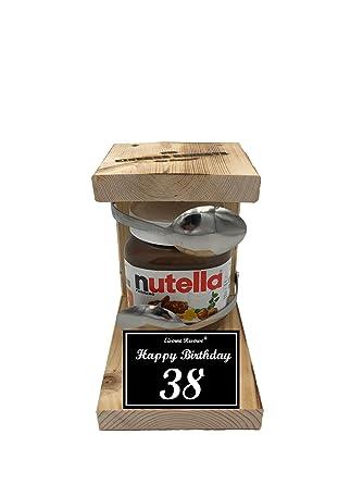 Happy Birthday 38 Geburtstag Eiserne Reserve Löffel Mit