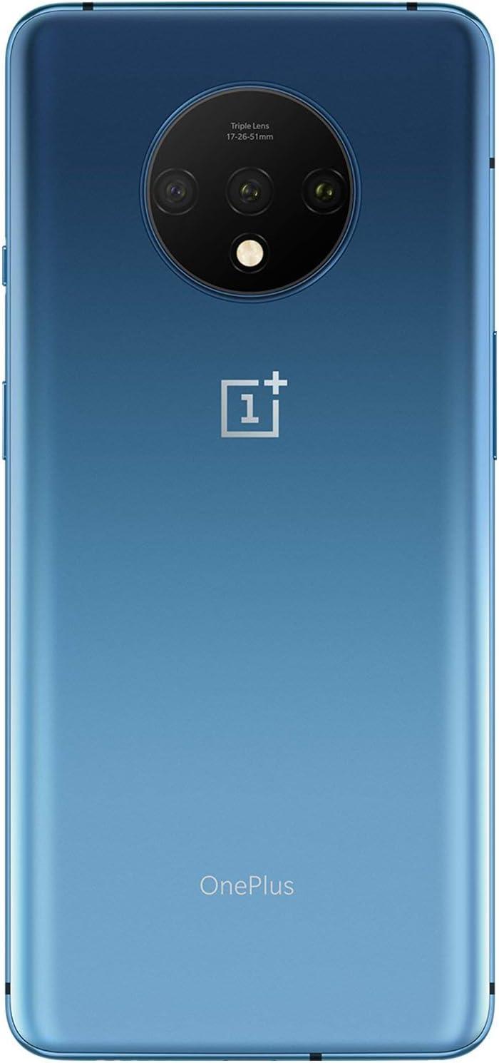 128GB Memory GSM 4G LTE Factory Unlocked OnePlus 7T HD1907 8GB RAM Glacier Blue Glacier Blue